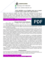 PORTFÓLIO 2º E 3º SEMESTRE de PEDAGOGIA 2021 - A Formação Do Professor Frente Às Teorias e Concepções Pedagógicas Contemporâneas.