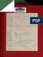 Silvio Romero- Ultimos_harpejos (1883)