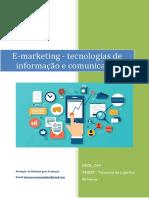 UFCD 0444 E-marketing Tecnologias de Infirmação e Comunicação Índice