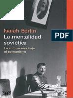 Berlin, Isaiah - La mentalidad sovietica [60530] (r1.0)