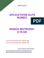 Bosch motronic 2.10.3 - Diagnóstico - 145 2.0