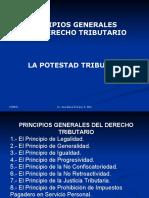 Principios tributarios y potestad tributaria