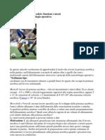 La Potenza Aerobica Nel Calcio Secondo i Principi Dlla Metodologia Operativa