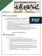 Mapeh 9 q3 Week 1 Copy