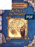 D&D 3.5 Deities and Demigods