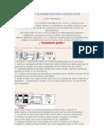 Manuales y códigos de programación para controles remoto
