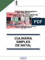 Culinária Simples de Natal (Christmas Cooking Made Simple)