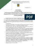 Proiect Hotarare CJSU propunere prelungire carantina comuna Dragomirești-Vale 13.04.2021