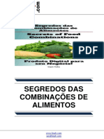 Segredos das Combinações de Alimentos (Secrets of Food Combinations)