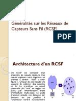Chap I- partie I Généralités sur les RCSF