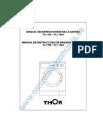 Thor TL2 1000 Washing Machine