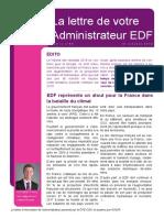 181000-Lettre administrateur -n64 - EDF
