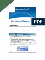 Chapitre 1 PHP