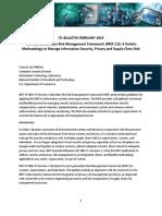 The Next Generation Risk Management Framework (RMF 2.0)