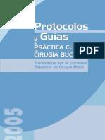 PROTOCOLOS Y GUÍAS DE PRÁCTICA CLÍNICA EN CIRUGÍA BUCAL
