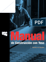 Manual de Construccion de Yeso