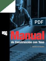 Manual de Construccion de Yeso