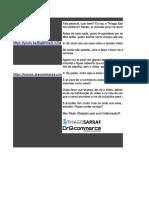 Comparativo Plataformas de E-commerce TOPs