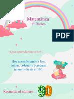 1° Básico NÚMEROS HASTA EL 100