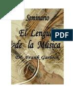 Seminario El Lenguaje de la Musica