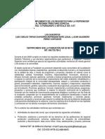 Certificado de Cumplimiento de Los Requisitos Para La Pertenecer Al Régimen Tributario Especial