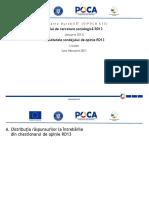 Departamentului pentru Dezvolatre Durabilă - Rezultatele sondajului de opinie RD13