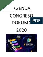 Agenda congreso 2020