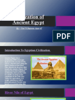 Civilization of Ancient Egypt presentation