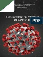 Livro-A Sociedade Em Tempos de Covid-19