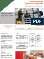 Dossier Informativo - Vigilante de Seguridad