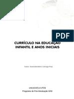 CURRÍCULO NA EDUCAÇÃO INFANTIL E ANOS INICIAIS