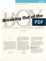 Breaking Out of the Box -A Crash Course in Paradigm Thinking with Werner Erhard