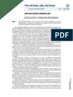Real Decreto 175 2021, de 23 de marzo, por el que se establece el curso de especialización en Sistemas de señalización y telecomunicaciones ferroviarias y se fijan los aspectos básicos del currículo