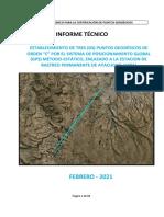 Informe Tecnico - Proyecto Vinchos