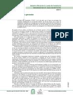 Decreto del Presidente 12 2021 Prorroga medidas Andalucia