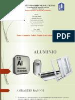 Aluminio, Cobre, Niquel y Sus Aleaciones 3im61