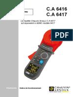 6417-FR CHAUVIN ARNOUX