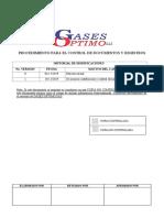PG-01 SIGGO PROCEDIMIENTO PARA EL CONTROL DE DOCUMENTOS Y REGISTROS