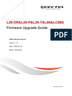 Quectel L26-DRL26-PL26-TL89LC98S Firmware Upgrade Guide V1.0