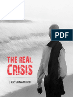 J Krishnamurti -The Real Crisis - KFI