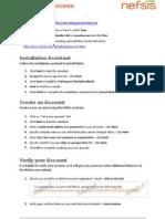 Nefsis Installation Process Rev6
