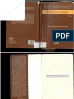HUSSERL, E. Idéias Para Uma Fenomenologia Pura e Para Uma Filosofia Fenomenológica