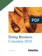 Doing Business in Colombia 2010_Deloitte
