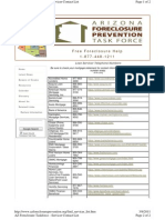 Arizona Foreclosure Prevention Task Force, Find Your Mortgage Servicer List