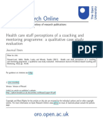4. 2017_Health Care Staff Perceptions of a Coaching and Mentoring Programme a Qualitative Case Study Evaluation