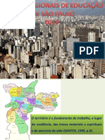 Apresentação dos Planos Regionais