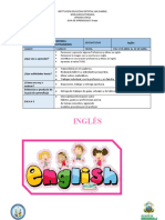 Guía # 2 Ingles 2021