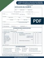 Formulario Chsf PDF