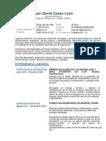 Cv-Ing-juan David Casas Leon 2