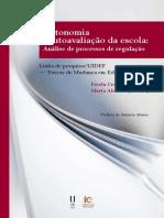 Autonomia e autoavaliacao-Analise de processos de regulacao
